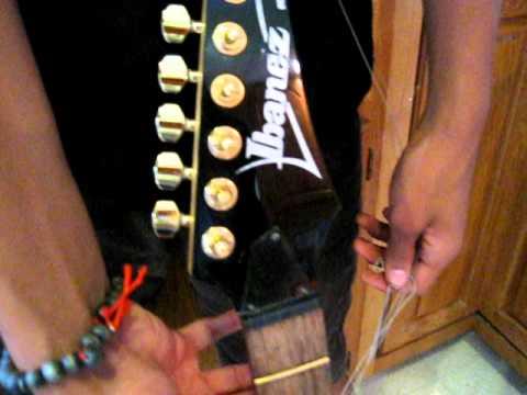 Real 24k gold plating on my guitar keys
