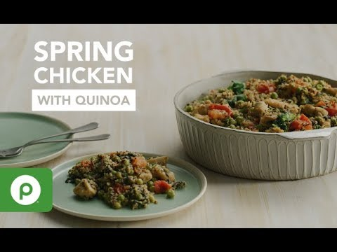 Spring Chicken with Quinoa. A Publix Aprons recipe.
