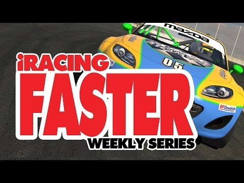 iRacing Faster intro - Learn how to drive really fast (weekly series)