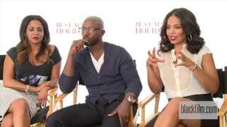 Nia Long, Taye Diggs, and Sanaa Lathan talk The Best Man Holiday