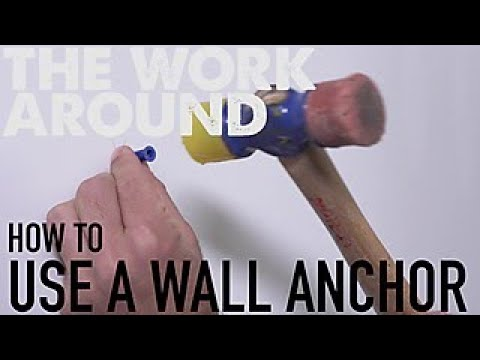How to Use a Wall Anchor - The Work Around - HGTV