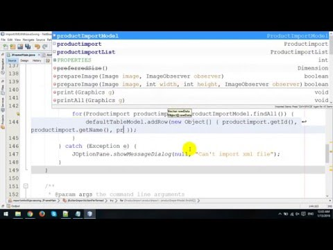 Import XML File to MySQL in Java Swing and Hibernate