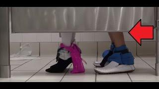 Sex In The Bathroom Prank (Social Experiment)