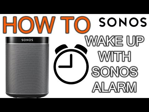 How to Create Sonos Alarm
