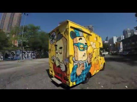 GORPIS FOOD TRUCK GRAFFITI