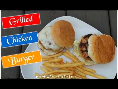 Moist Grilled Chicken Burger recipe with Secret Tricks You Need to Know for Tender Juicy Burgers