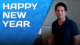 New Year Wishes from Sachin Tendulkar