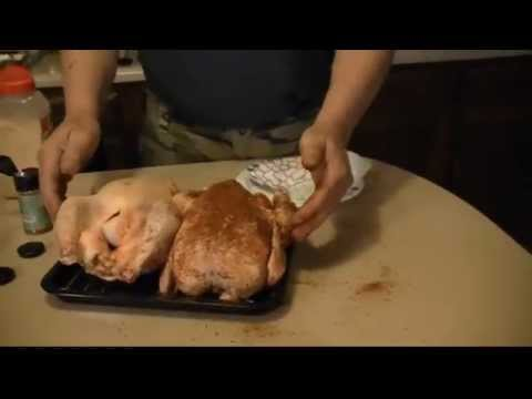 Cooking Whole Chicken in a Kitchenaid Convection Toaster Oven