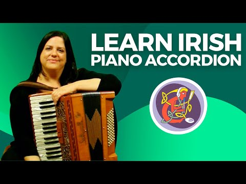 Irish Piano Accordion Lesson   Learn Charlie Harris' Reel + Bass Technique