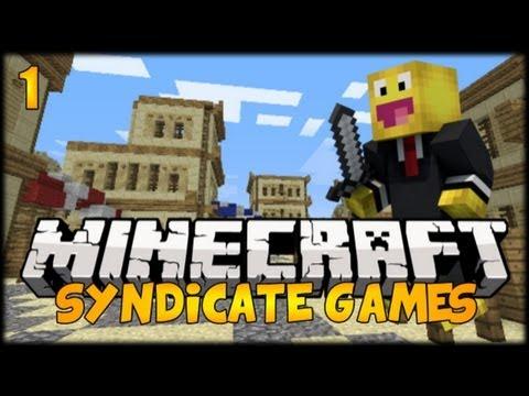 Minecraft 1.7.4 SYNDICATE GAMES Server Mini-Game