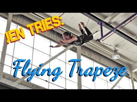 Jen Tries: Flying Trapeze