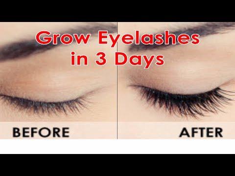 How to grow LONG EYELASHES FAST | Guaranteed RESULTS in 3 days | Natural eyelash growth serum