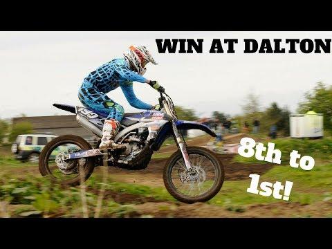 WIN AT DALTON | 8TH TO 1ST! | GoPro Hero 5 Black | Motocross