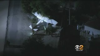 3 Hurt After Small Plane Crashes In El Monte