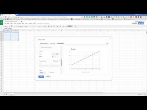 How to Create a Line Graph in Google Sheets