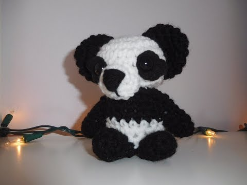 Amigurumi Crochet Panda Tutorial (& an update)