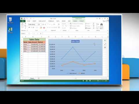 How to Data Labels in a Line Graph in Excel 2013