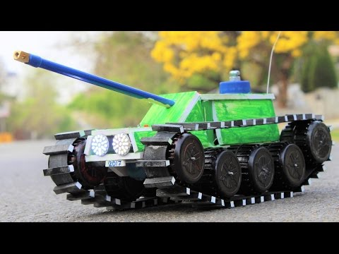 How To Make a Tank - Remote Control Tank