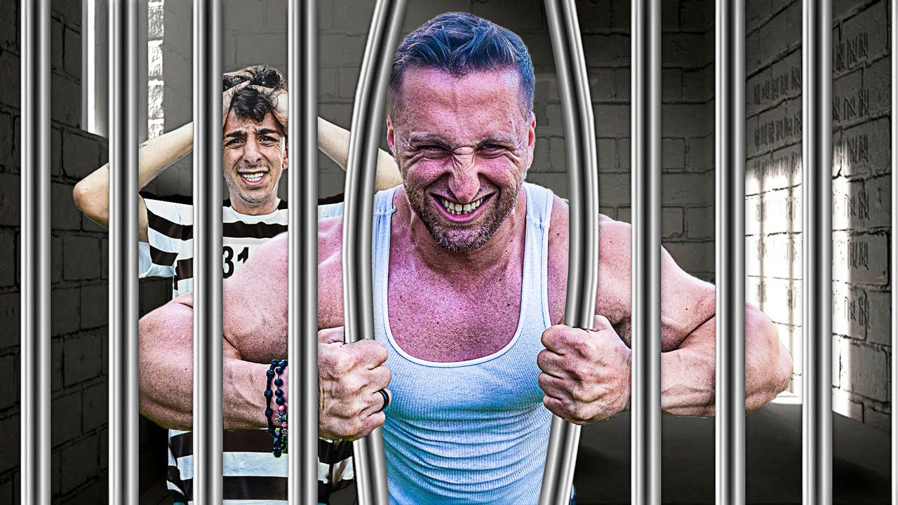 WORLD'S STRONGEST MAN VS UNBREAKABLE PRISON!!