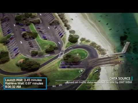 BMT Design & Technology Simulation Capabilities - Boat ramp congestion