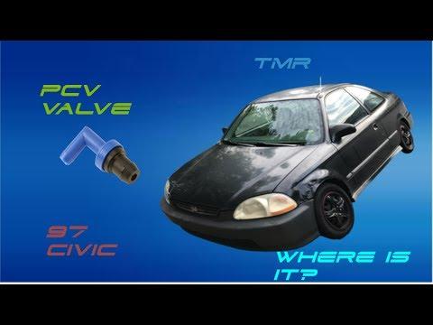 1997 Honda Civic PCV Valve