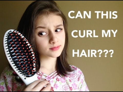 Can A Hairbrush Straightener Curl My Hair?