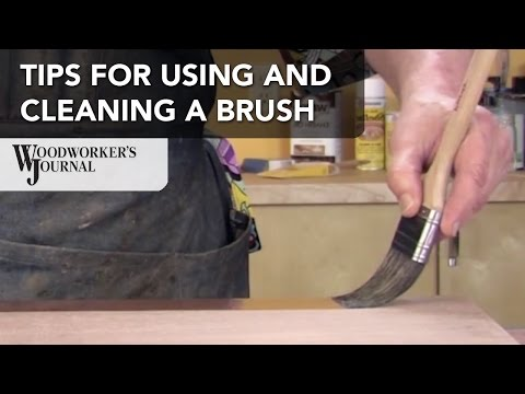 Tips for Brushing Top Coats and Cleaning Brushes