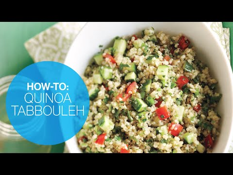 How to make quinoa tabbouleh | Canadian Living