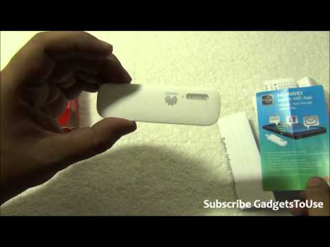 Huawei Wingle E8231 Poratble On The Go Wifi Hotspot Dongle From SIM Card Review, Features and Overvi