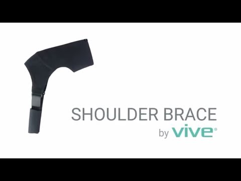 Shoulder Brace by Vive - Rotator Cuff Support for Injury Prevention, Dislocated AC Joint,  Bursitis