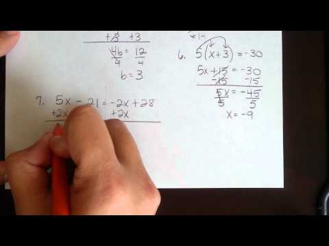 Solving Equations & Inequalities Review of Algebra 1