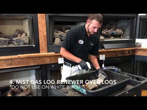 Fireside Tutorial: How to clean your gas logs