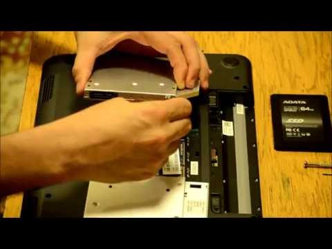 Dell Inspiron N5010 15 15R adding 2nd HDD / SSD using DVD / optical drive bay