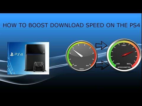 HOW TO MAKE YOUR DOWNLOAD SPEED FAST ON THE PS4!!!EASY!!2017!!!