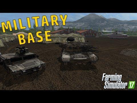 MILITARY BASE SET UP | Farming Simulator 2017