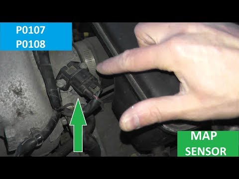 How to Test and Replace A Map Sensor P0107 and P0108