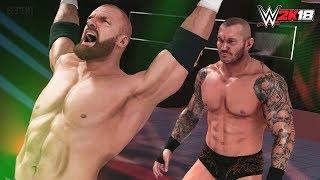 WWE 2K18 Sneaking Break Out Finishers & Epic Run-in Montage (PS4 & XB1)