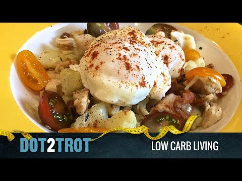 Leftover Turkey Cauliflower Hash (Low Carb)