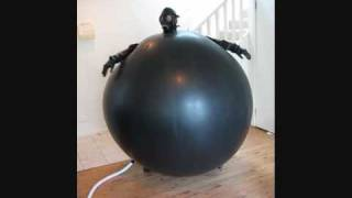 Body inflation videos watch her inflate latex suit
