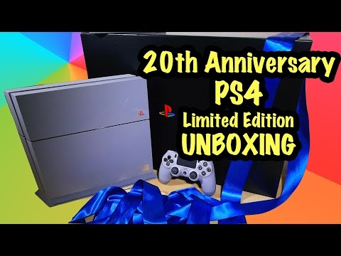 20th Anniversary PS4 Limited Edition - Unboxing - #20YearsOfPlay