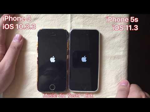 iPhone 5 iOS 10.3.3 vs. iPhone 5s iOS 11.3 - Full Speedtest 2018