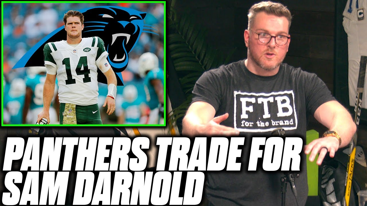 Pat McAfee Reacts To Sam Darnold Being Traded To The Carolina Panthers