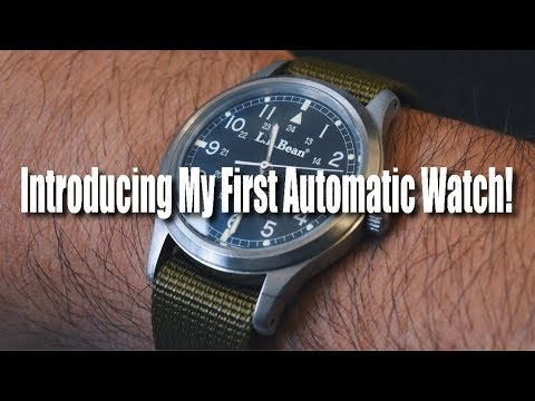 Introducing My First Automatic Watch!