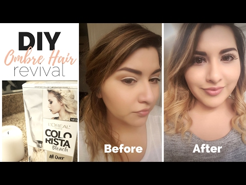 DIY Ombre Hair Fix | L'Oreal Bleach All Over