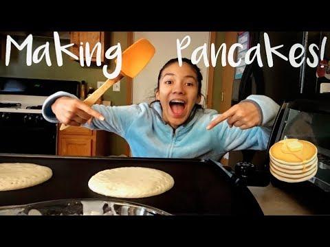 Making Pancakes!