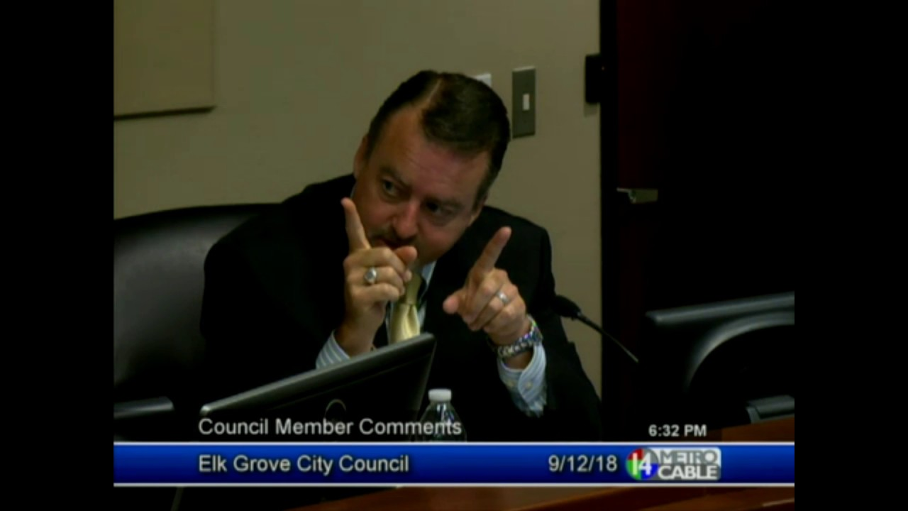 Tempers flare between Elk Grove City Council members during meeting