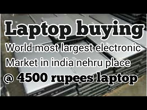 Buy laptop in nehru place  l asia largest electronic market l Cheapest laptops l expo boys l #1 vlog
