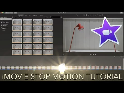 iMovie - Stop Motion Tutorial (2016)