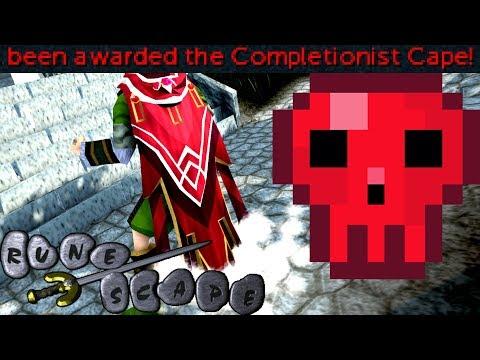 Runescape Iron Seto Completionist Cape!