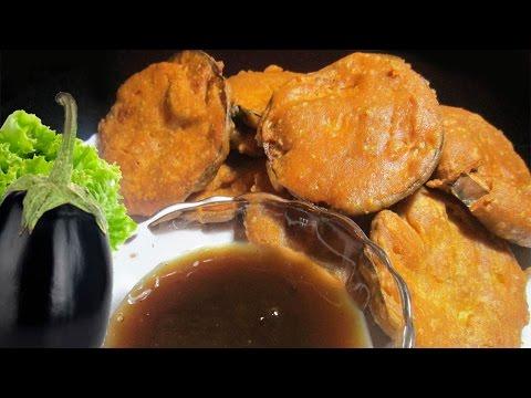 Baingan Pakora | Baingan Recipe | Eggplant Recipe